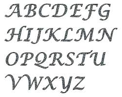 Letter Stencils To Print And Cut Out Letters To Print For Free Bubble Circus Letters Free Print Zebra