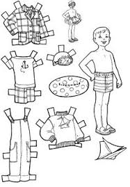 Small Picture Printable cutout paper doll sheet Hispanic Heritage art