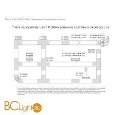 <b>Шинопровод</b> однофазный <b>Arte Lamp</b> Track <b>A511133</b> 1м белый с ...