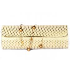 designer golden clutch gifts to kerala