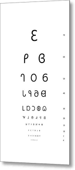 Snellen Eye Test Chart Dereset