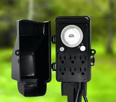 new outdoor light with power and image of perfect outdoor light timer outdoor security light