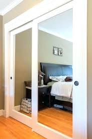 decoration popular mirrored sliding closet doors with mirror door options plans incredible in home depot
