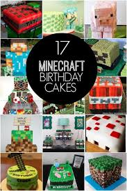 17 Of The Coolest Minecraft Birthday Cakes Ever Created Spaceships