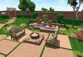 Small Picture Free 3D Landscape Design Software With Gazebo Small Pond Small