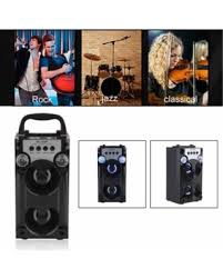 wireless office speakers. Portable Handheld Outdoor Bluetooth Stereo Wireless Speakers FM Radio TF Card AUX Music Player For Party Office