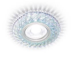 <b>S288</b> CH хром/прозрачный/MR16+3W(LED WHITE) | <b>Ambrella</b>