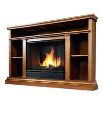 led fireplace tv stand corner vent free gel fueled and media electric