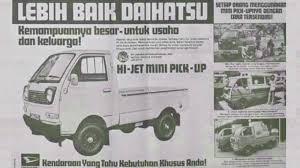 Mobil pick up drift / slalom mobil pick up, gymkhana indonesia race war di stadion maguwoharjo sleman jogja, yogyakarta indonesia. Sejarah Daihatsu Hijet Zebra Gran Max Hi Max Di Indonesia