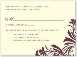 Wedding Invitation Response Card Under Fontanacountryinn Com