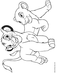 Small Picture The Lion King Color Page Disney Coloring Pages Color Plate