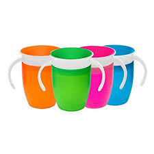 Munchkin Miracle <b>360</b>-<b>Degree</b> Trainer Cup, 7 Ounce (colors may vary)