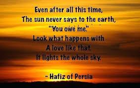 Hafiz Quotes Extraordinary Hafiz Love Quotes Stirring Sun Sky Quote 48 Hafiz Of Persia Quotes