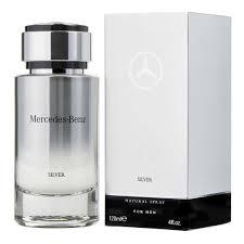 <b>Mercedes Benz Silver For Men</b> Eau De Toilette 120ML