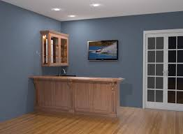 ... Astounding Images Of Various Kitchen Bar Design For Kitchen Decoration  Design Ideas : Excellent Light Blue ...