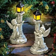 solar angel garden statue fastkaide