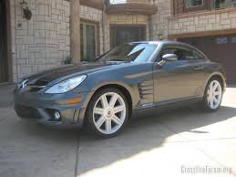 The car i bought is a white 2004 chrysler crossfire. Coupe With Mercedes Front Clip Crossfireforum The Chrysler Crossfire And Srt6 Resource