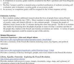 american revolution and french revolution venn diagram plan 1 the politics of revolution subject areas world history