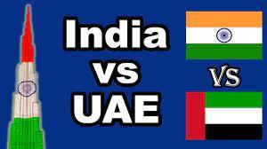 Life in India vs United Arab Emirates (2018) - YouTube