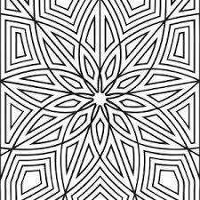 Small Picture Geometric Design Coloring Pages To And Print For adult