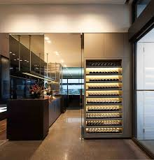 Wine Cellar Kitchen Floor Coppin Penthouse By Jam Architects Caandesign Architecture And