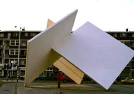 perpendicular planes in real life. 1983 1987 - homage to oud and van doesburg perpendicular planes, constructed concrete sculpture, marconiplein, rotterdam nl planes in real life