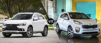 2016 Mitsubishi Outlander Sport vs 2017 Kia Sportage