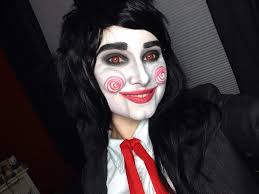 billy the puppet 1st makeup test
