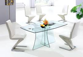 small glass dining room table cool dining room decoration with glass dining table design impressive small