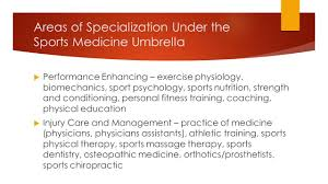 athletic trainers chapter fitness professionals coaches and 3 areas
