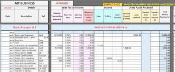 Excel Templates For Small Business Bookkeeping Free Excel Bookkeeping Templates Small Business