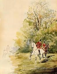 henri de toulouse lautrec paintings for hunting