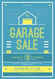 12 Garage Sale Flyer Templates Printable Psd Ai Vector Eps