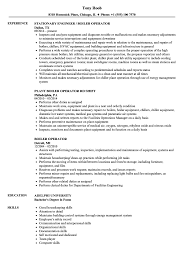Boiler Operator Resume Samples Velvet Jobs