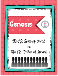 12 Tribes Of Israel Month Chart Bible Fun For Kids The 12 Sons Of Jacob Vs The 12 Tribes