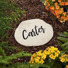 our mom rocks personalized round garden stone 4 25 x 6