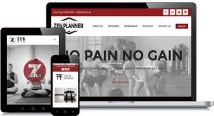 gym website design fitness website design now offered through zen planner