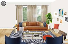 Look For Design Living Room Eclectic Living Room Design With Havenly