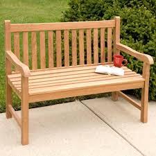 teak outdoor benches furniture garden hampshire