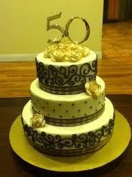 50th Anniversary Cupcake Decorations 50th Anniversary Cake Cakecentralcom