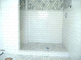 white subway tile with grey grout bathroom beveled tiles kitchen splashback and light gray floor home improvement awesome