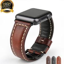 amazing genuine leather apple watch band