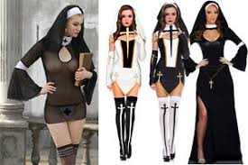 Image Is Loading Sexy Hen Naughty Nun Sister Transparent Bedroom Fun