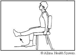 sitting kicks