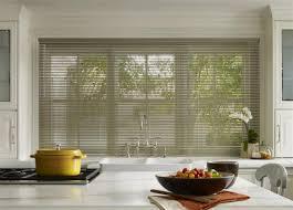 aluminum blinds kitchen