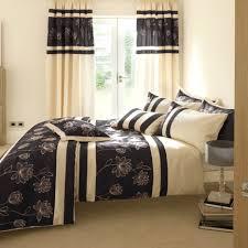 Bedroom Cozy Bedroom Design With Master Bed And Beige Also Black - Beige and black bedroom