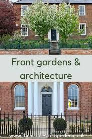 welcoming front garden