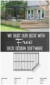 Lowes Deck Designer Not Working We Built A Deck Free Online Deck Designer Software