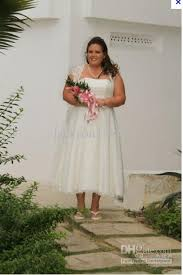plus size wedding dresses with sleeves tea length discount strapless lace tea length cap sleeve gown style 9t9948 plus
