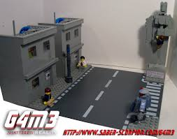 saber scorpion s lair by justin r stebbins lego gm shattered it is a virtual reality simulation that exists in utopia the perfect city of the future in g4m3 the citizens of utopia can experience the opposite of